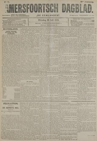 Amersfoortsch Dagblad / De Eemlander 1916-07-25