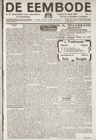 De Eembode 1923-04-13