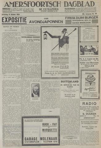 Amersfoortsch Dagblad / De Eemlander 1929-10-19