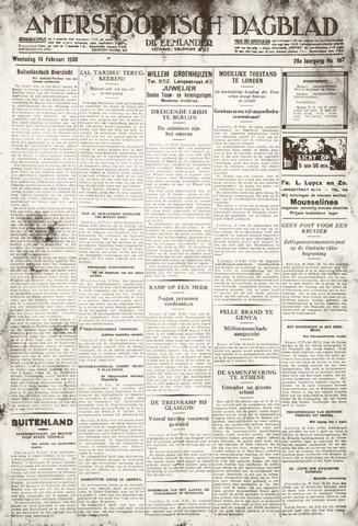 Amersfoortsch Dagblad / De Eemlander 1930-02-19