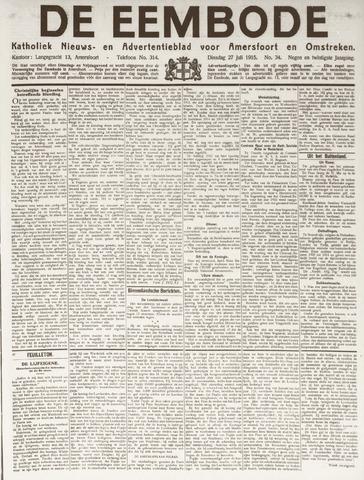 De Eembode 1915-07-27