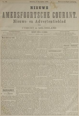 Nieuwe Amersfoortsche Courant 1895-11-02