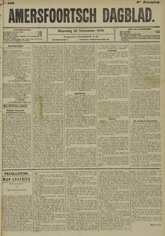 Amersfoortsch Dagblad 1904-11-28