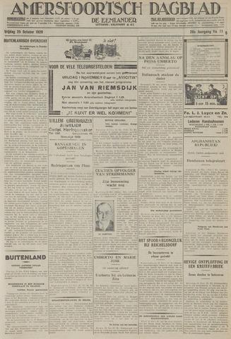 Amersfoortsch Dagblad / De Eemlander 1929-10-25