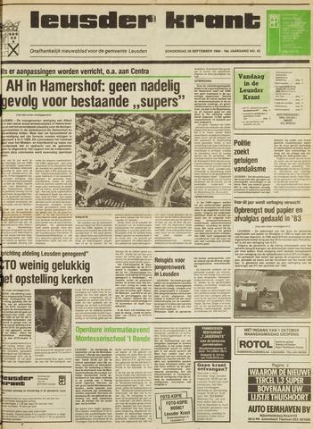 Leusder Krant 1984-09-20