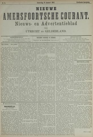 Nieuwe Amersfoortsche Courant 1887-01-15