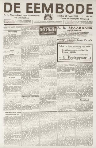 De Eembode 1923-08-31