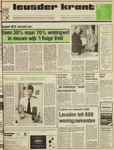 Leusder Krant 1985-09-26