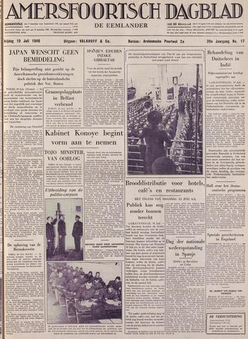 Amersfoortsch Dagblad / De Eemlander 1940-07-19