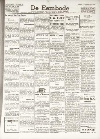 De Eembode 1937-09-07