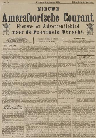 Nieuwe Amersfoortsche Courant 1906-09-05