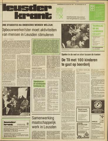 Leusder Krant 1981-08-20