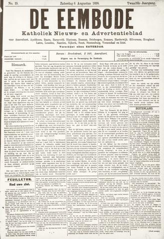 De Eembode 1898-08-06