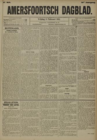 Amersfoortsch Dagblad 1912-02-09