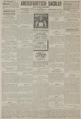 Amersfoortsch Dagblad / De Eemlander 1926-09-29