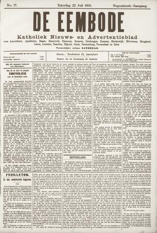De Eembode 1905-07-22