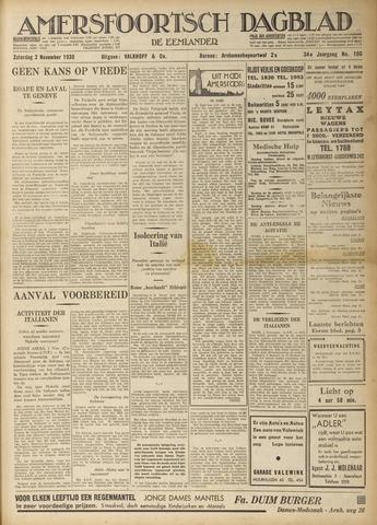 Amersfoortsch Dagblad / De Eemlander 1935-11-02