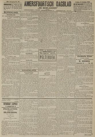 Amersfoortsch Dagblad / De Eemlander 1923-10-19