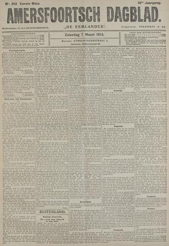 Amersfoortsch Dagblad / De Eemlander 1914-03-07
