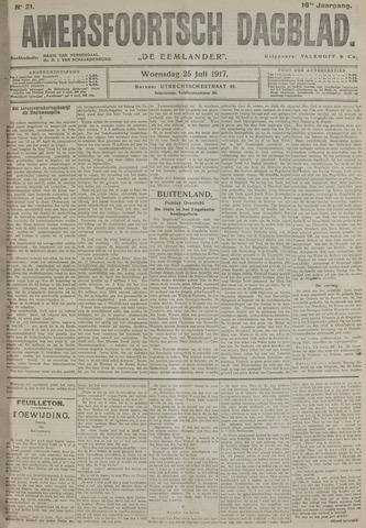 Amersfoortsch Dagblad / De Eemlander 1917-07-25