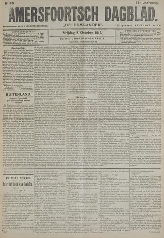 Amersfoortsch Dagblad / De Eemlander 1915-10-08