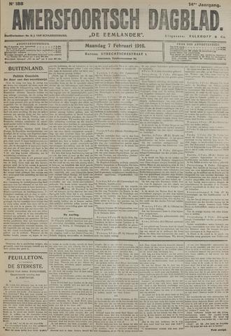 Amersfoortsch Dagblad / De Eemlander 1916-02-07