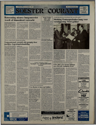 Soester Courant 1989-10-25