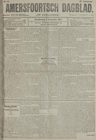 Amersfoortsch Dagblad / De Eemlander 1917-08-02