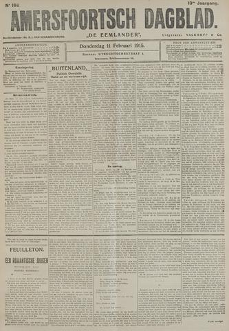 Amersfoortsch Dagblad / De Eemlander 1915-02-11
