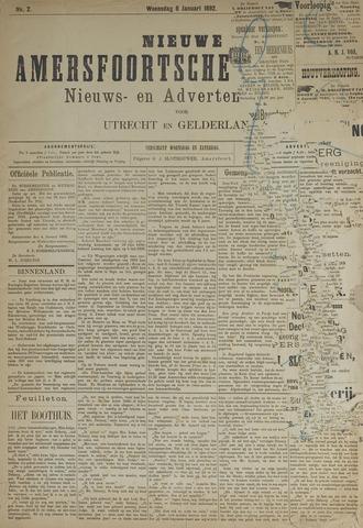 Nieuwe Amersfoortsche Courant 1892-01-06
