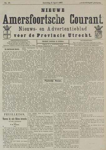 Nieuwe Amersfoortsche Courant 1907-04-06
