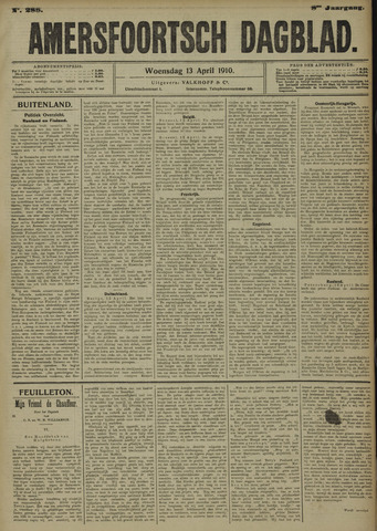 Amersfoortsch Dagblad 1910-04-13