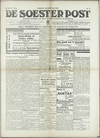 Soester Courant 1935-02-22