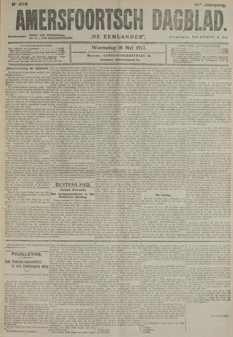 Amersfoortsch Dagblad / De Eemlander 1917-05-16