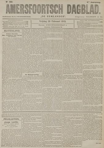 Amersfoortsch Dagblad / De Eemlander 1913-02-28