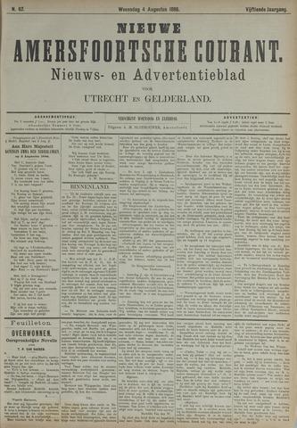 Nieuwe Amersfoortsche Courant 1886-08-04