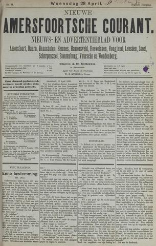 Nieuwe Amersfoortsche Courant 1880-04-28
