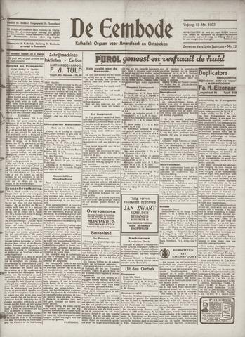 De Eembode 1933-05-12