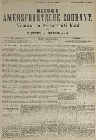 Nieuwe Amersfoortsche Courant 1893-08-23