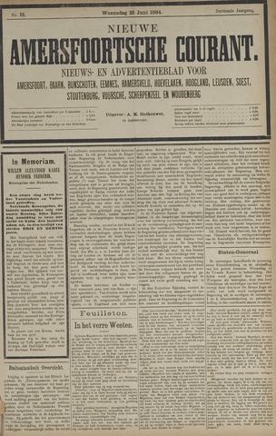 Nieuwe Amersfoortsche Courant 1884-06-25