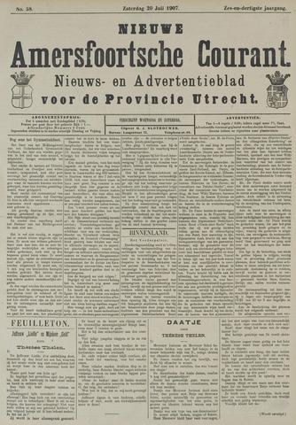 Nieuwe Amersfoortsche Courant 1907-07-20