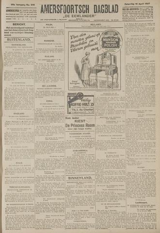 Amersfoortsch Dagblad / De Eemlander 1927-04-16