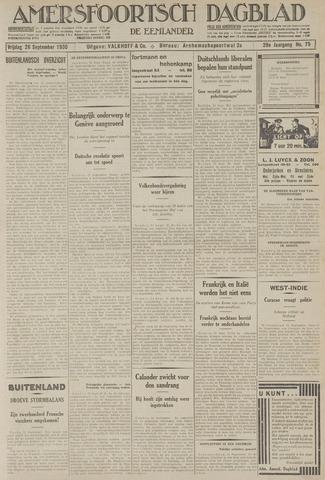 Amersfoortsch Dagblad / De Eemlander 1930-09-26
