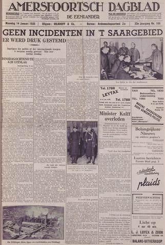 Amersfoortsch Dagblad / De Eemlander 1935-01-14