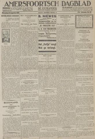 Amersfoortsch Dagblad / De Eemlander 1928-08-22