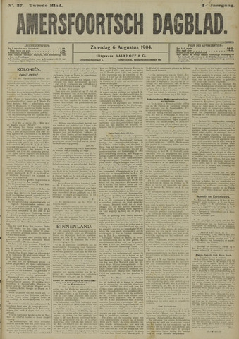 Amersfoortsch Dagblad 1904-08-06