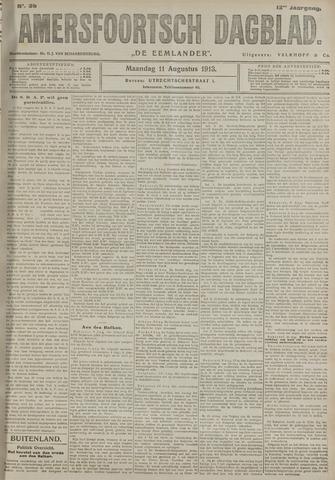 Amersfoortsch Dagblad / De Eemlander 1913-08-11