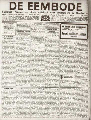 De Eembode 1917-09-21