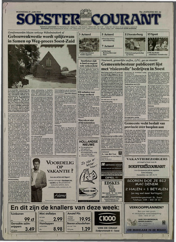 Soester Courant 2000-06-21