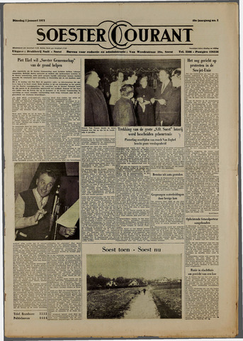 Soester Courant 1971-01-05